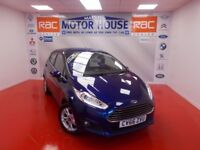 Ford Fiesta ZETEC (10000 MILES) FREE MOT'S AS LONG AS YOU OWN THE CAR!! (blue) 2016