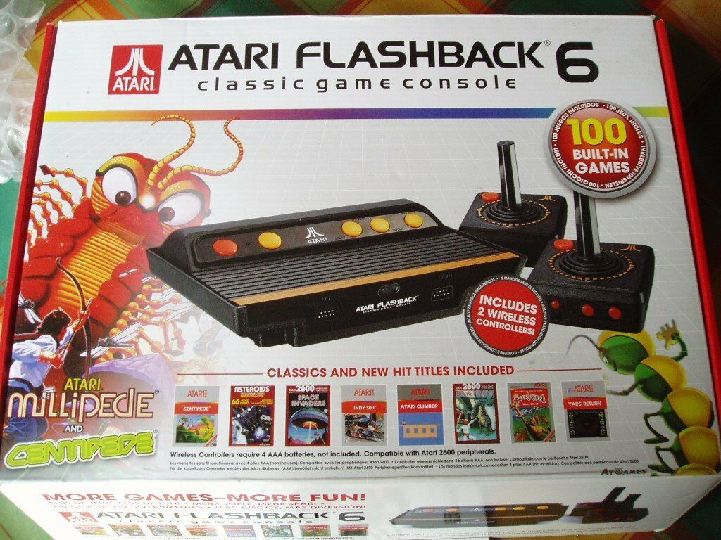 Atari flashback 6 100 retro games console