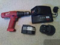 milwaukee cordless rechargeable drill and charger