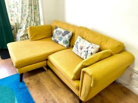 Sofa for sale with 1 year warranty included