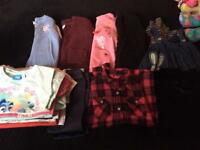 Large bundle of girls clothing 4-5 years
