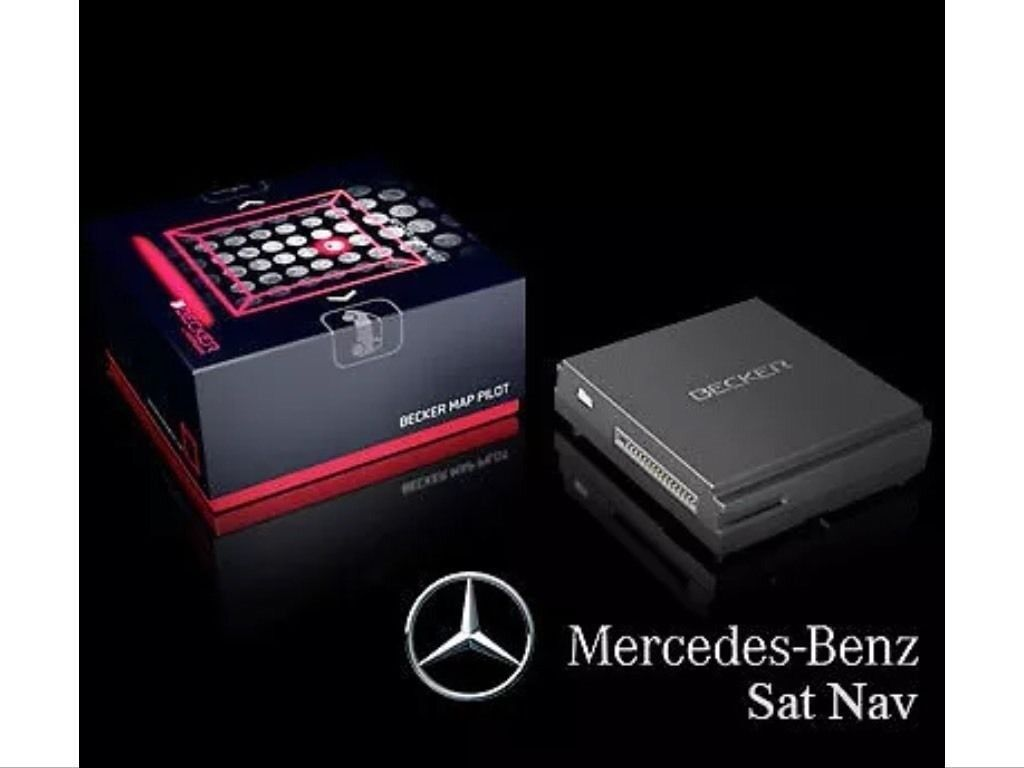 mercedes benz becker map pilot satellite navigation gps. Black Bedroom Furniture Sets. Home Design Ideas