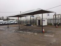 Hand Car Wash Equipment, Business for sale Washer Pump, Hoover, Canopy