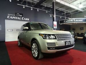 2013 Land Rover Range Rover V8 SUPERCHARGED / NAVIGATION / BACK