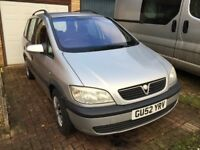 Zafira 2.0 DTI Manual