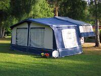 Folding camper 6 berth