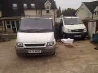 2004 Ford Transit Van & 2007 LDV Maxus 2.8T 95 SWB Van. Both for parts. £200 for each van.