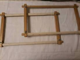 2x Tapestry stretchers