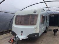 Knaus Starclass 560 Touring Caravan.