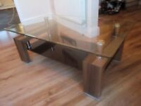 COFFEE TABLE (rrp £650) FREE DELIVERY. VERY MODERN WITH SUPERB BUILD QUALITY