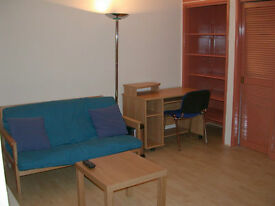 Fully Furnished. Oxford Street Studio flat (with seperate Kitchen) From 19th January