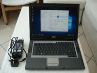 Dell Latitude D531, Business Laptop with Windows 10 Pro.