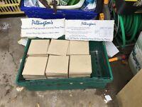 120 Beige Floor Tiles - Pilkingtons Woolliscroft Multi Versatile Measurements 15cm x 15cm
