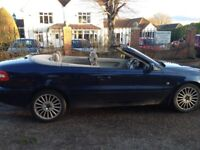VOLVO 2.3 GT T5 C70 CONVERTIBLE 2003 240 BHP MOT 8 MONTHS A VERY NICE CLEAN RELIABLE CAR