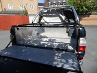 L200 ExcellentTruck Double Cab, Leather, 4 Spotlights, Checkerplate Bed with Cover. Wind Deflectors