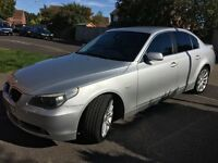 525d Auto, Adaptive Xenon, leather, satnav, aux input, new discs and pads, 2 new 2 good tyres