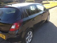 I have a Vauxhall corsa 1.2 low mileage 5 door. Electric windows, air con, but sadly car d.