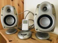 Klipsch Sub Woofer and Speakers with iPod and Docking Station