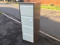 4 Drawer Filing Cabinet with Keys FREE CAMBRIDGE DELIVERY