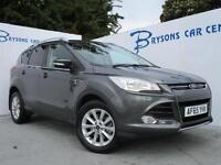 FORD KUGA 2.0 TDCi 180 Titanium Powershift Auto (grey) 2015