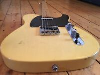Fender Telecaster 1952 AVRI w/ Upgrades, relic job, and hardcase
