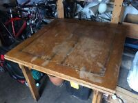 1940's table for upcycling