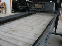 Rolling Inspection Table, 12'