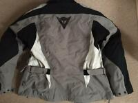 Dainese Motorcycle jacket (Gore Tex) and trousers (D-Dry)