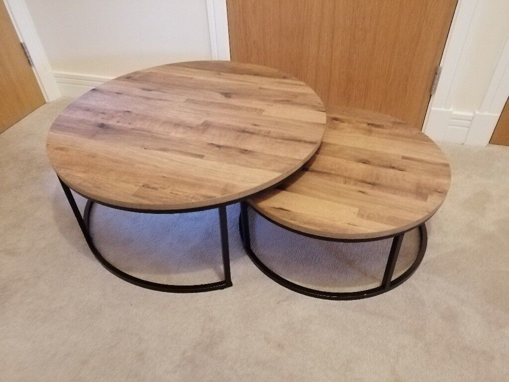 Bronx Round Coffee Nest Of Tables Next In Doune Stirling Gumtree