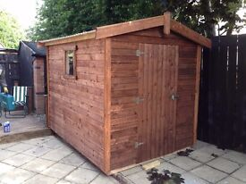 garden shed 8x6 heavy duty sheds. waterproof lined
