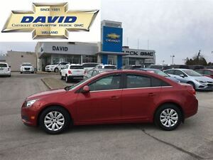 2011 Chevrolet Cruze 1LT, LOADED, ST.CTRLS, LOCAL TRADE!!!
