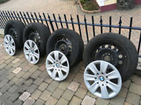 Winter tyres and wheels for BMW