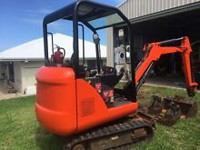 Excavator 1.6 tonne bobcat Rural View Mackay City Preview