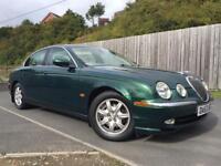 2003 Jaguar S Type 2.5 V6 Automatic +LOWMILES+ not x type mondeo e220 e270