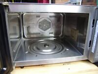 Panasonic microwave oven, stainless steel, grill function, good clean condition