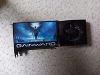 FULLY WORKING GAMING GRAPHICS CARD GAINWARD GTX 280 PCI-E 1GB DEDICATED VRAM, PCI EXPRESS,2 X DVI