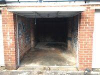 Secure single garage Broadfields EX2