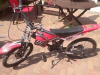 Childs motorcross pushbike for sale!