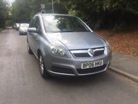 Vauxhall Zafira 2006 1.6i 16v Club MPV 5d 1598cc **SPARE OR REPAIR**