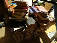 JOB LOT COLLECTION OF 146 BOOKS MANY HARDBACKS £40 THE LOT or CHERRY PICK AT £1 EACH