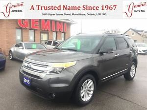 2015 Ford Explorer XLT 4X4 Leather Roof Navi