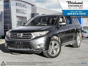 2013 Toyota Highlander Limited 4WD   LEATHER   SUNROOF