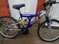 "SCEPTRE CHALLENGE mountain bike 24 "" wheels in good condition"