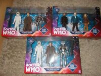 Dr who figures x 3 sets brand new