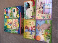 My First Puzzles and wooden puzzles inc In The Night Garden. 12/18mths +