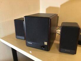 Microlab FC330 2.1 Speakers