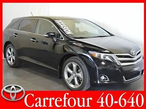 2014 Toyota Venza V6 AWD Limited GPS+Cuir+Toit Ouvrant+Camera de