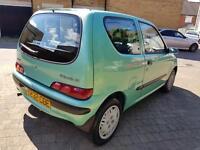 Fiat Seicento 2001 new mot 2 key 60k miles £500