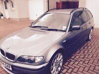 BMW 330D Msport , long MOT, 105000 miles