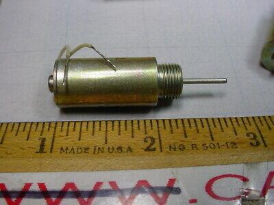 Ledex 81840 12-24 Vdc Mini Push Type Solenoid Lot Of 10 Pcs